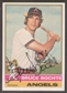 1976 Topps Baseball #637 Bruce Bochte Signed in Person Auto
