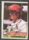 1976 Topps Baseball #601 Ken Rudolph Signed in Person Auto (A)