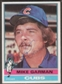 1976 Topps Baseball #34 Mike Garman Signed in Person Auto