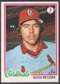 1978 Topps Baseball #431 Butch Metzger Signed in Person Auto