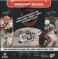 2009 Press Pass Signature Edition Football Hobby Box
