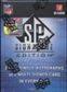 2009 Upper Deck SP Signature Edition Football Hobby Box