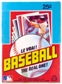 1982 O-Pee-Chee Baseball Wax Box