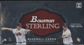 2009 Bowman Sterling Baseball Hobby Box