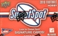 2010 Upper Deck NCAA Sweet Spot Football Hobby Pack