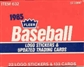 1985 Fleer Update Baseball Factory Set