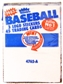 1985 Fleer Baseball Rack Box