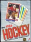 1986/87 Topps Hockey Wax Box