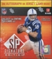 2009 Upper Deck SP Signature Edition Football 10-Pack Box
