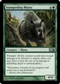 Magic the Gathering 2010 Single Stampeding Rhino FOIL