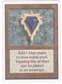 Magic the Gathering Unlimited Single Mox Sapphire - NEAR MINT (NM)