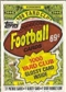 1986 Topps Football Cello Pack