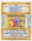 1934/36 National Chicle Diamond Stars Baseball Wrapper