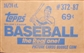 1987 Topps Baseball Cello 16-Box Case