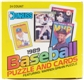 1989 Donruss Baseball Cello Box