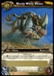 WoW Icecrown Single Wooly White Rhino Loot Card Unscratched