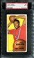 1970/71 Topps Basketball #92 Gus Johnson PSA 7 (NM) *2839