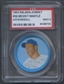 1963 Salada-Junket Baseball Coin #56 Mickey Mantle PSA 9 (MINT) *6754