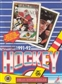 1991/92 O-Pee-Chee Hockey Wax Box
