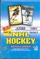 1991/92 Score Canadian Bilingual Series 2 Hockey Hobby Box