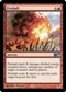 Magic the Gathering 2010 Single Fireball UNPLAYED (NM/MT) 4x Lot