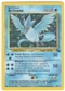Pokemon Fossil Single Articuno 2/62 - SLIGHT PLAY (SP)