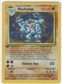 Pokemon Base Set 1 Single 1st Edition Machamp 8/102