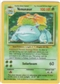 Pokemon Base Set 1 Single Venusaur 15/102 - SLIGHT PLAY
