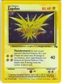 Pokemon Fossil Single Zapdos 15/62 SLIGHT PLAY (SP)