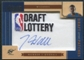 2010/11 Timeless Treasures NBA Draft Lottery Patch Autograph #1 John Wall /10