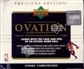 1998/99 Upper Deck Ovation Basketball Hobby Box