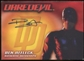 2003 Topps Daredevil Movie Autographs #1 Ben Affleck