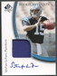 2005 SP Authentic #223 Stefan LeFors Rookie Autograph Patch /899