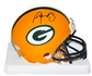 Aaron Rodgers Autographed Green Bay Packers Mini Helmet (Steiner & NFL COA)