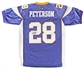 Adrian Peterson Autographed Minnesota Vikings Replithentic Purple Jersey