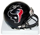 Arian Foster Autographed Houston Texans Mini Helmet (Leaf COA)