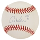"Al Kaline Autographed Official MLB Baseball w/""HOF 80"" Inscription (Reggie Jackson COA)"