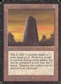 Magic the Gathering Alpha Single Basalt Monolith - MODERATE PLAY (MP)