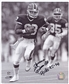 Andre Reed Autographed Buffalo Bills 8x10 Football Photo Black and White w/INSC