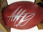 Adrian Peterson Autographed Minnesota Vikings Official Wilson NFL Game Football