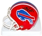 Andre Reed Autographed Buffalo Bills Throwback Football Mini Helmet