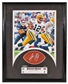 Aaron Rodgers Sweet Spot Autographed Auto Framed Piece of Football UDA #01/50