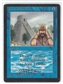Magic the Gathering Beta Single Ancestral Recall MARK POOLE SIGNED - MODERATE PLAY (MP)