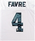 Brett Favre Autographed Green Bay Packers White Jersey (Farve Holo)