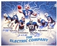 Electric Company Autographed Buffalo Bills 16x20 Football Composite Photo