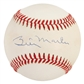 Billy Martin Autographed Official MLB Baseball (PSA)