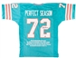Bob Griese & Don Shula Autographed Miami Dolphins Perfect Season Football Jersey (Leaf)