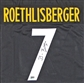 Ben Roethlisberger Autographed Pittsburgh Steelers Black Jersey