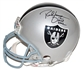 Tim Brown & Rich Gannon Autographed Oakland Raiders Proline Full Size Helmet (Tristar)