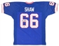 "Billy Shaw Autographed Buffalo Bills Jersey w/""HOF 99"" (Leaf Authentics)"